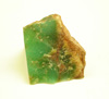 Picture of a rough piece of Chrysoprase