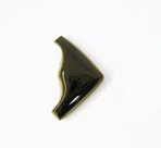 A wedge shape onyx cabochon.