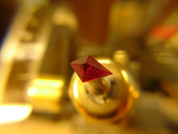 The Ruby is now shaped into a kite shape.