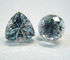 Small photo of 2 finished gemstones.