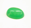 Small photo of a green cabochon.