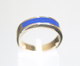 Picture of a Lapis inlay ring.