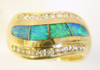 Picture of ring inlaid with Opal.
