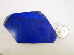 Lapis rough material