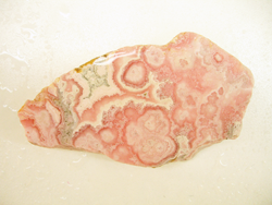 Rhodochrosite rough slab