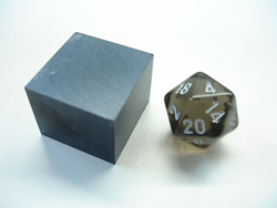 Denver Gem Cutting, LLC - We Faceted this 20 sided dice
